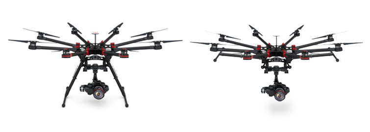 DJI S1000 Octocopter with Retracting Landing Gear